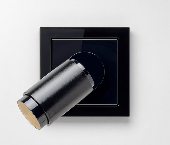Plug & Light  | LS Design LED Spotlight black by JUNG | Wall lights