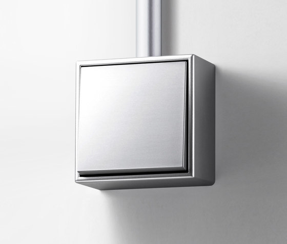 LS Cube | switch aluminium by JUNG | Two-way switches