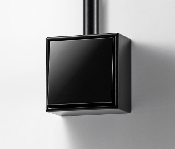 LS Cube | switch black by JUNG | Two-way switches