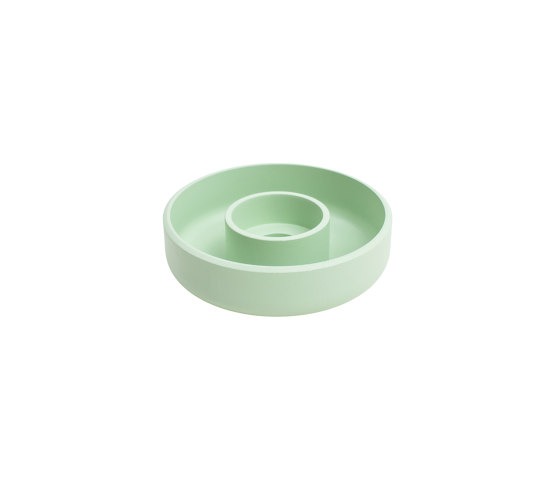 Punched Metal Candle Holder Pastel green by Hem Design Studio | Candlesticks / Candleholder