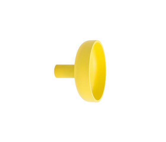 Punched Metal Hook Large Yellow de Hem Design Studio | Ganchos simples
