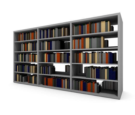 Frontline de Lammhults Biblioteksdesign   Estantería