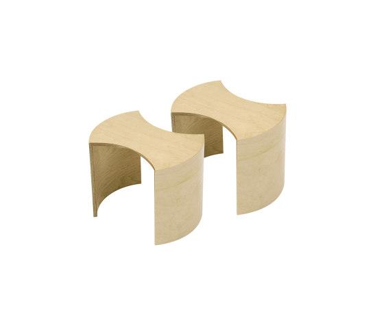 Puzzle by Lammhults Biblioteksdesign   Kids stools
