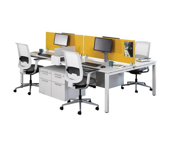 FrameFour Bench by Steelcase | Desks