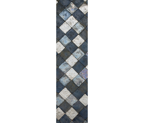 Ancient Lustre Rubboli 1873   Prugna by Cotto Etrusco   Ceramic tiles