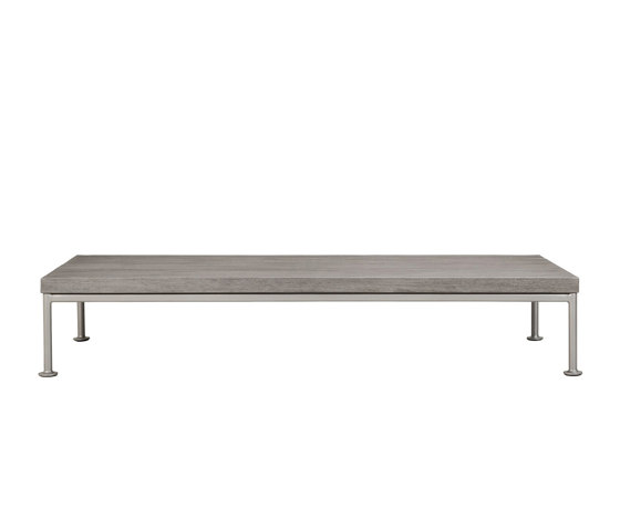 GINA OTTOMAN / COCKTAIL TABLE RECTANGLE 140 by JANUS et Cie | Coffee tables
