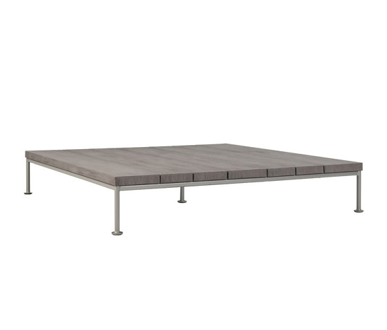 GINA OTTOMAN / COCKTAIL TABLE SQUARE 140 by JANUS et Cie | Coffee tables