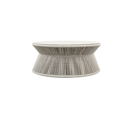 KNOT COCKTAIL TABLE ROUND 99 by JANUS et Cie | Coffee tables