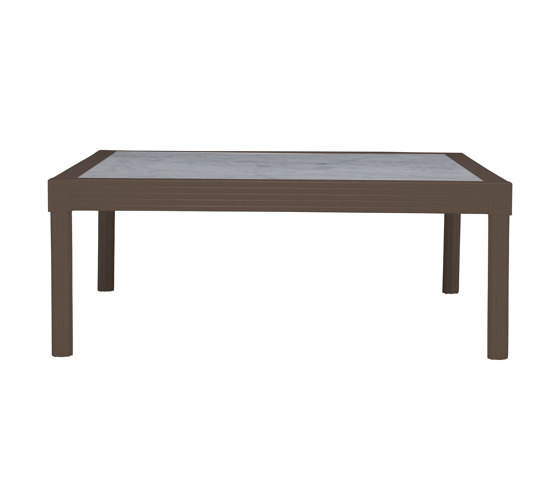 QUADRATL STONE TOP COCKTAIL TABLE SQUARE 110 by JANUS et Cie | Coffee tables