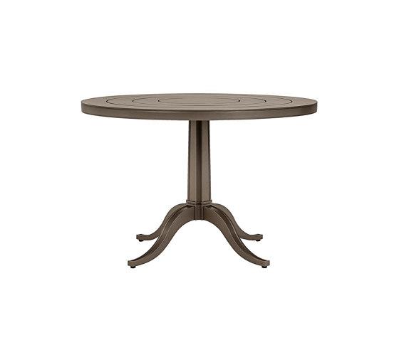 CHARLES CONTINENTAL TABLE ROUND 100 di JANUS et Cie | Tavoli pranzo