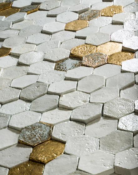 Ancient Lustre Rubboli 1873 by Cotto Etrusco   Ceramic tiles