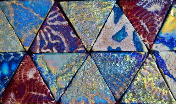 Ancient Lustre Rubboli 1873 | Ricami by Cotto Etrusco | Ceramic tiles