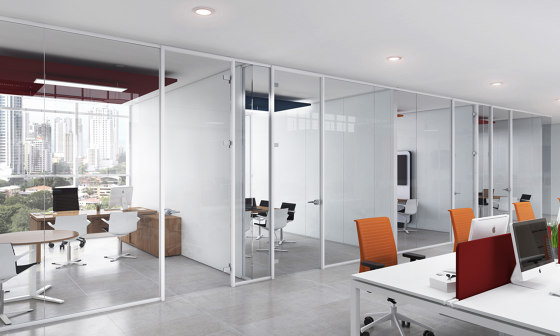 Line by Dynamobel | Wall partition systems