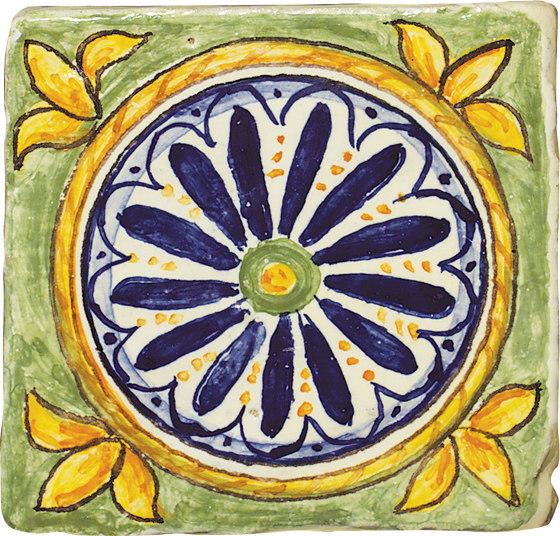 Glazes   Classic Decorations 03 by Cotto Etrusco   Ceramic tiles
