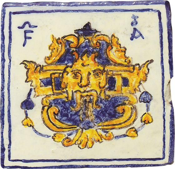 Glazes | Classic Decorations 14 by Cotto Etrusco | Ceramic tiles