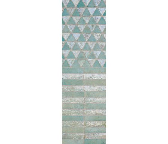 Glazes | Matt & Glossy | Mix Acquamarina Madreperla by Cotto Etrusco | Ceramic tiles
