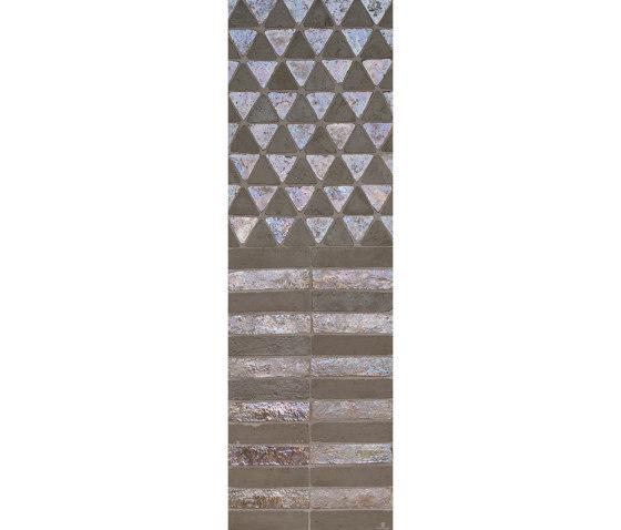 Glazes | Matt & Glossy | Mix Cardo Madreperla 50% by Cotto Etrusco | Ceramic tiles