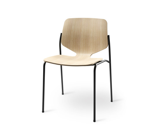 Nova - Upcycled 3D Beech Waste Veneer, Natural by Mater | Chairs