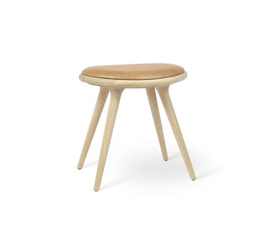 Low Stool - Natural Soaped Oak by Mater | Stools