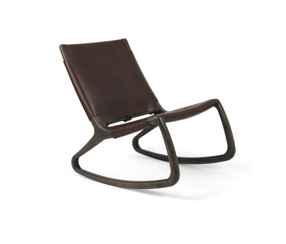 Rocker - Sirka Grey Stained by Mater | Armchairs