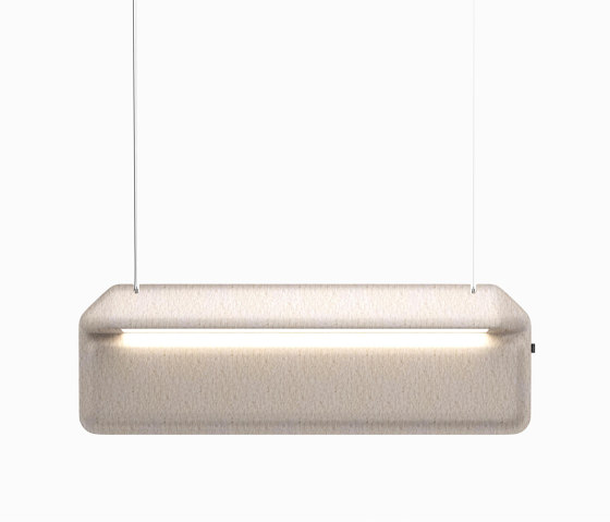 AK 2 Hanging Workplace Divider Lamp by De Vorm | Suspended lights