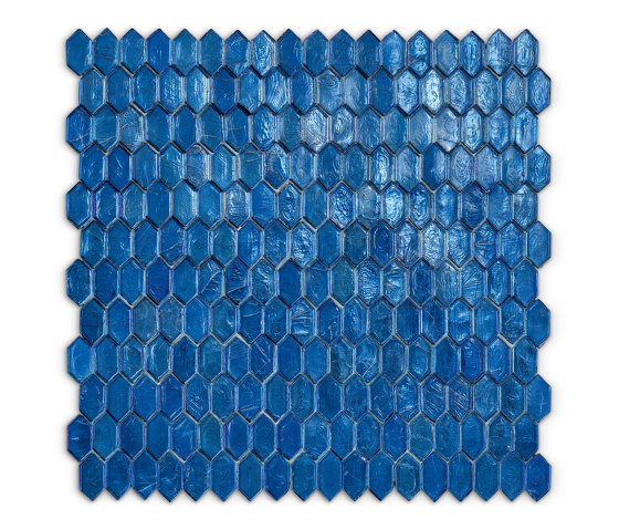 Crystal - Larimar by SICIS | Glass mosaics