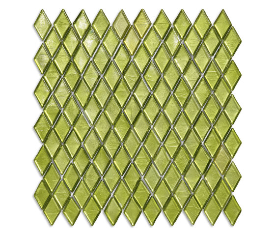 Diamond - Olivina by SICIS   Glass mosaics
