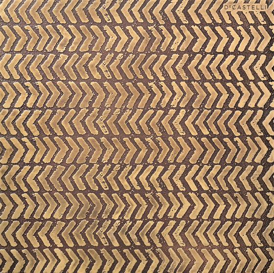 DeErosion H7 on brass by De Castelli | Metal sheets