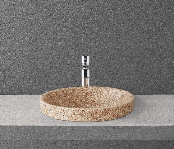Soft 40 recessed by Woodio | Wash basins