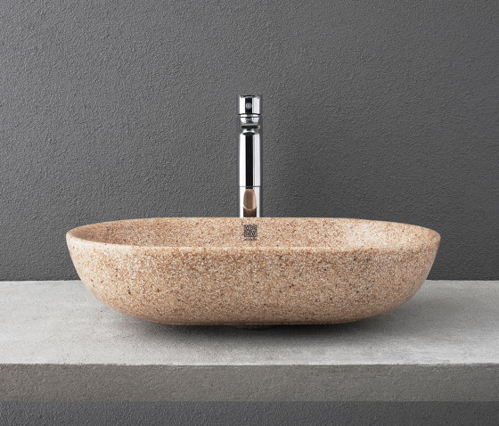Soft 60 table top by Woodio | Wash basins