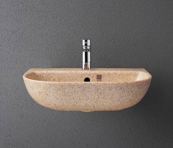 Soft 60 wall hung by Woodio | Wash basins