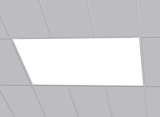FABRICated Luminaires - Grid (T-bar) by Cooledge | Recessed ceiling lights