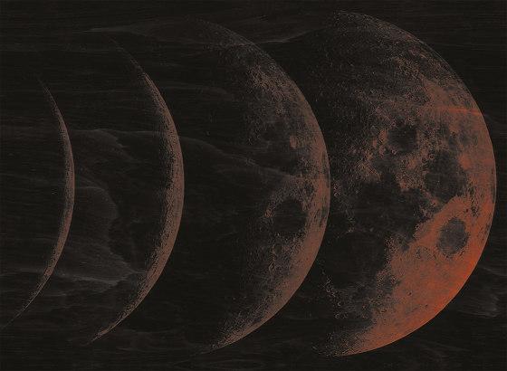 Moon di LONDONART   Carta parati / tappezzeria