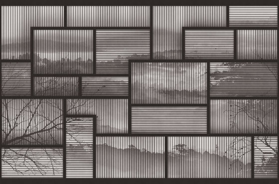 Framed Memory di LONDONART | Carta parati / tappezzeria