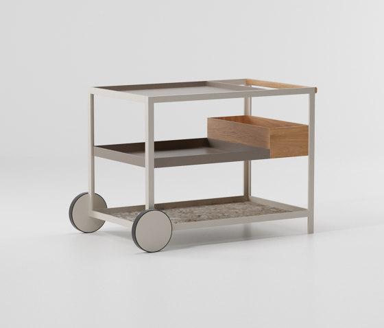 Objects outdoor trolley de KETTAL | Carritos
