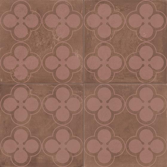 Ossidi | Fiori Vinaccia von Marca Corona | Keramikböden