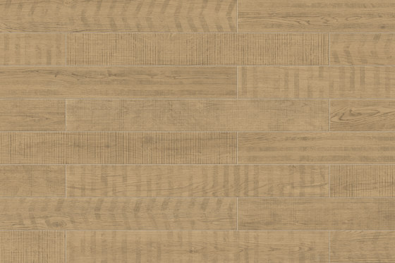Lagom | Mix Linear Blond by Marca Corona | Ceramic flooring