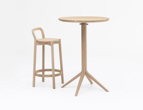 Scout Bistro Bar Table von Karimoku New Standard | Bistrotische