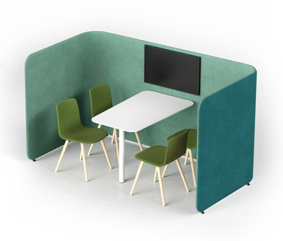 PodMeeting Cove by Martela | Sound absorbing room divider