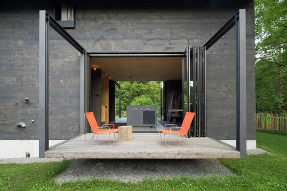 Bi-Folding Doors | Ecoline by Solarlux | Window types