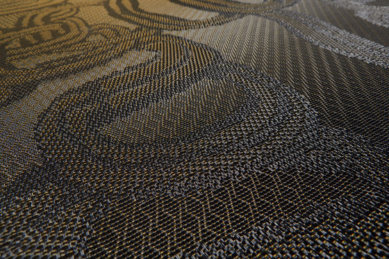 Diversity Bling Amber by Bolon | Wall-to-wall carpets