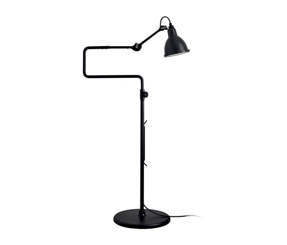 LAMPE GRAS | XL OUTDOOR SEA - N°411 | black satin by DCW éditions | Outdoor free-standing lights