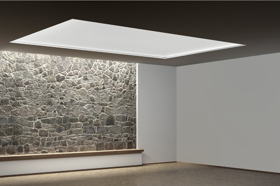 COVE wall / ceiling system by XAL | Recessed ceiling lights