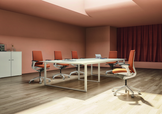 L System Meeting Desking von Guialmi | Schreibtische