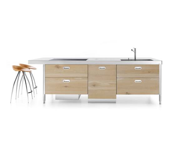 island 280 by ALPES-INOX | Compact kitchens