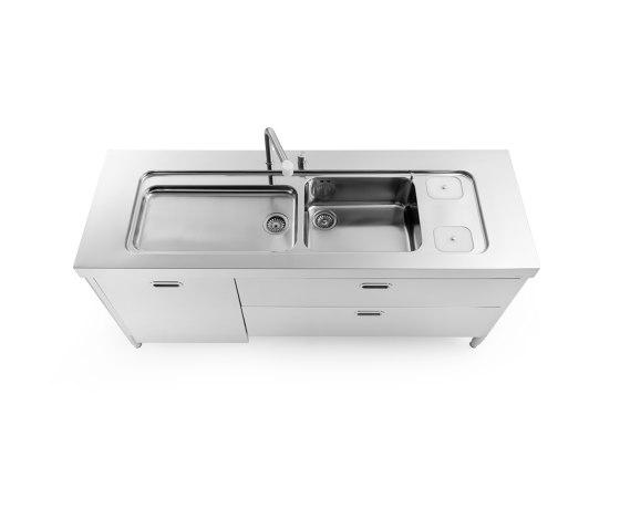 washing element 190 de ALPES-INOX | Cocinas compactas