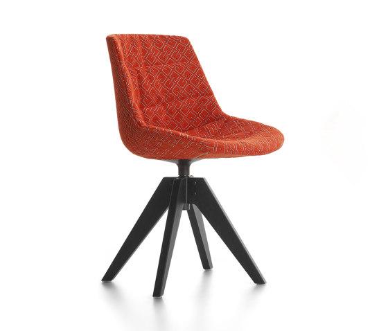 Flow Tessile von MDF Italia   Stühle