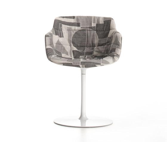 Flow Tessile von MDF Italia | Stühle