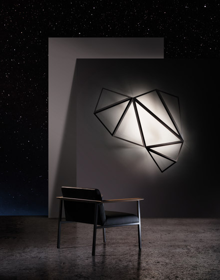 STARLIGHT GIANT Wall-mounted lamp de Karboxx | Appliques murales
