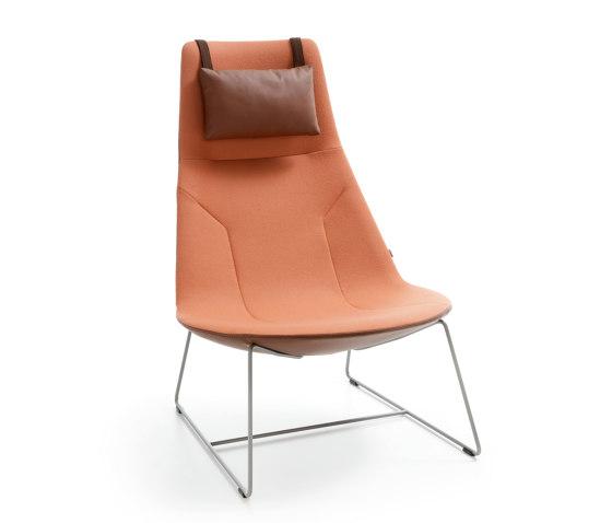 Chic Lounge A10V3 von PROFIM | Sessel